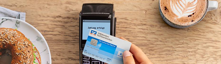 Kontaktlos Bezahlen Freisinger Bank Eg